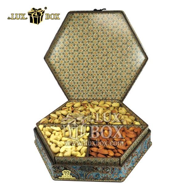 جعبه آجیل کادویی،جعبه شیک،جعبه لوکس،آجیل صادراتی،فروش جعبه آجیل،خرید جعبه آجیل، جعبه پذیرایی،جعبه آجیل پذیرایی