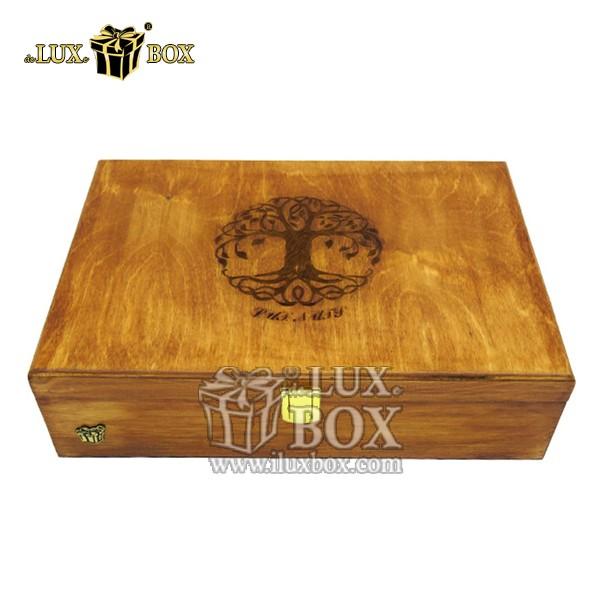 جعبه نفیس آجیل خشکبار پذیرایی چوبی لوکس باکس  کد LB 135 , لوکس باکس،جعبه ، جعبه آجیل، جعبه آجیل و خشکبار،آجیل، خشکبار،بسته بندی آجیل،جعبه ارزان،جعبه ارزان آجیل، جعبه چوبی ارزان،آجیل کادویی،