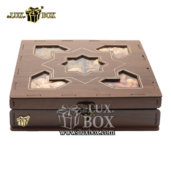 جعبه پذیرایی آجیل و خشکبار ، جعبه چوبی ، بسته بندی لوکس، جعبه آجیل و خشکبار ،باکس چوبی،جعبه پذیرایی آجیل و خشکبار لوکس باکس  ، جعبه چوبی پذیرایی آجیل و خشکبار لوکس باکس کد LB 026