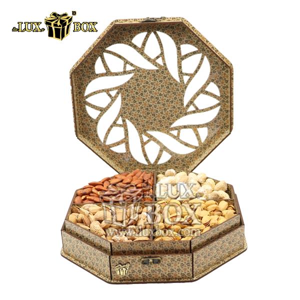 جعبه آجیل و خشکبار ،باکس چوبی ،جعبه پذیرایی آجیل و خشکبار ،بسته بندی لوکس جعبه چوبی ،جعبه آجیل و خشکبار LB021،جعبه پذیرایی آجیل و خشکبار لوکس باکس ،جعبه چوبی پذیرایی آجیل و خشکبار لوکس باکس ، جعبه کاد