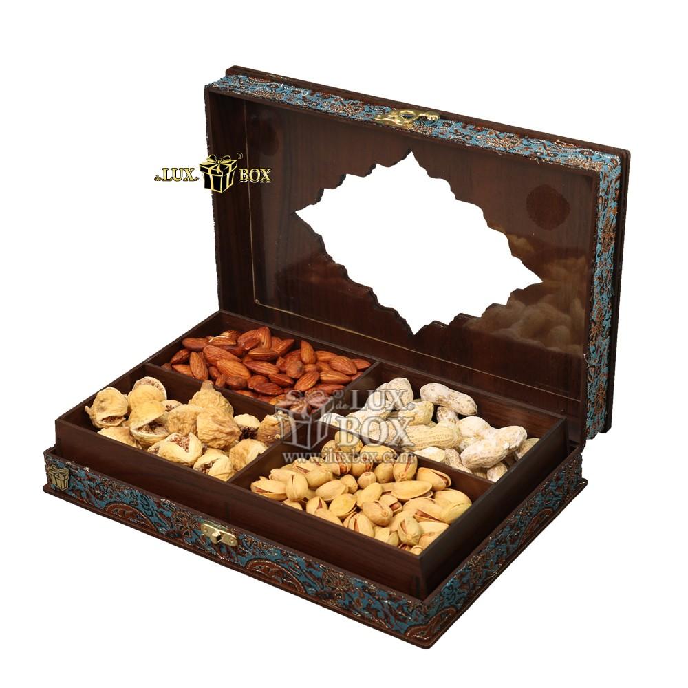جعبه چوبی آجیل و خشکبار،باکس آجیل،جعبه پذیرایی ،بسته بندی آجیل،جعبه کادویی آجیل، بسته بندی لوکس آجیل و خشکبار،جعبه پذیرایی آجیل و خشکبار لوکس باکس ، جعبه چوبی پذیرایی آجیل و خشکبار لوکس باکس، جعبه آجی