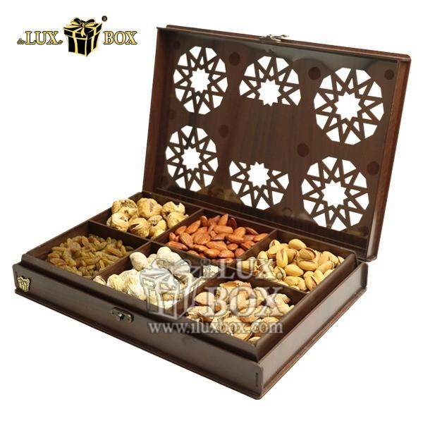 جعبه آجیل لوکس،باکس چوبی آجیل و خشکبار،جعبه پذیرایی آجیل وخشکبار،جعبه کادویی آجیل،بسته بندی لوکس آجیل ،باکس چوبی لوکس،جعبه پذیرایی آجیل و خشکبار لوکس باکس ،جعبه چوبی پذیرایی آجیل و خشکبار لوکس باکس کد