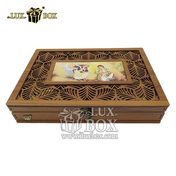 جعبه آجیل خشکبار پذیرایی چوبی لوکس باکس کد LB 044 , لوکس باکس،جعبه ، جعبه آجیل، جعبه آجیل و خشکبار،آجیل، خشکبار،بسته بندی آجیل،جعبه ارزان،جعبه ارزان آجیل، جعبه چوبی ارزان،آجیل کادویی، جعبه آجیل کادویی،
