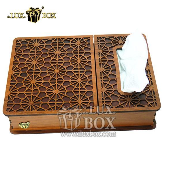 جعبه دمنوش پذیرایی  تی بگ دستمال کاغذی چوبی لوکس باکس کد LB 17 _ 00 , جعبه ، جعبه چوبی ، جعبه دمنوش ،جعبه پذیرایی دمنوش، جعبه چوبی پذیرایی ،جعبه پذیرایی ، باکس چوبی ، جعبه چوبی دمنوش ، جعبه پذیرایی و دمنوش ،