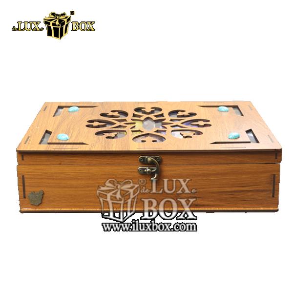 جعبه دمنوش پذیرایی چای کیسه ای تی بگ چوبی لوکس باکس کد LB011 , جعبه ، جعبه چوبی ، جعبه دمنوش ،جعبه پذیرایی دمنوش، جعبه چوبی پذیرایی ،جعبه پذیرایی ، جعبه ارزان دمنوش،جعبه پذیرایی و دمنوش ، جعبه کادویی دمنوش