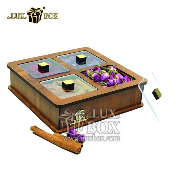 جعبه دمنوش پذیرایی چای کیسه ای تی بگ چوبی لوکس باکس کد LB 18 _ 0 , جعبه ، جعبه چوبی ، جعبه دمنوش ،جعبه پذیرایی دمنوش، جعبه چوبی پذیرایی ،جعبه پذیرایی ، جعبه ارزان دمنوش،جعبه پذیرایی و دمنوش ، جعبه کادویی دمنوش