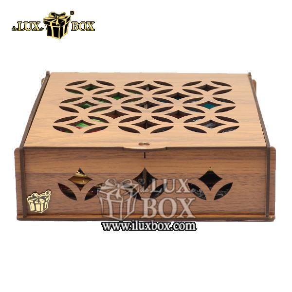 جعبه دمنوش پذیرایی چای کیسه ای تی بگ چوبی لوکس باکس کد LB 030 , جعبه ، جعبه چوبی ، جعبه دمنوش ،جعبه پذیرایی دمنوش، جعبه چوبی پذیرایی ،جعبه پذیرایی ، جعبه ارزان دمنوش،جعبه پذیرایی و دمنوش ، جعبه کادویی دمنوش