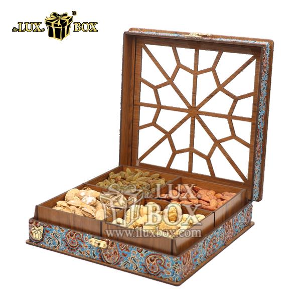 جعبه چوبی آجیل ،جعبه پذیرایی آجیل و خشکبار ،جعبه کادویی آجیل،باکس چوبی آجیل ،بسته بندی چوبی آجیل و خشکبار،بسته بندی لوکس ،باکس آجیل کادویی،جعبه پذیرایی آجیل و خشکبار لوکس باکس ، جعبه آجیل خشکبار پذیرا