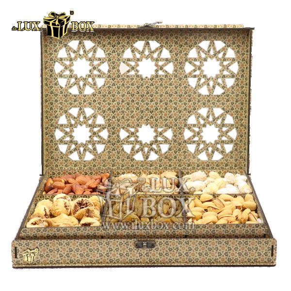 جعبه آجیل و خشکبار،بسته بندی آجیل،جعبه ارزان،جعبه ارزان آجیل، جعبه چوبی ارزان،آجیل کادویی، جعبه آجیل کادویی،جعبه شیک،جعبه لوکس