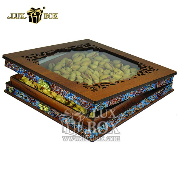 لوکس باکس،جعبه ، جعبه آجیل، جعبه آجیل و خشکبار،آجیل، خشکبار،بسته بندی آجیل،جعبه ارزان،جعبه ارزان آجیل، جعبه چوبی ارزان،آجیل کادویی، جعبه آجیل کادویی