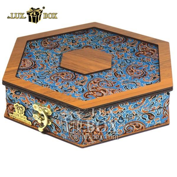 جعبه آجیل خشکبار پذیرایی ترمه چوبی لوکس باکس  کد LBL 013 , لوکس باکس،جعبه ، جعبه آجیل، جعبه آجیل و خشکبار،آجیل، خشکبار،بسته بندی آجیل،جعبه ارزان،جعبه ارزان آجیل، جعبه چوبی ارزان،آجیل کادویی، جعبه آجیل کادویی،
