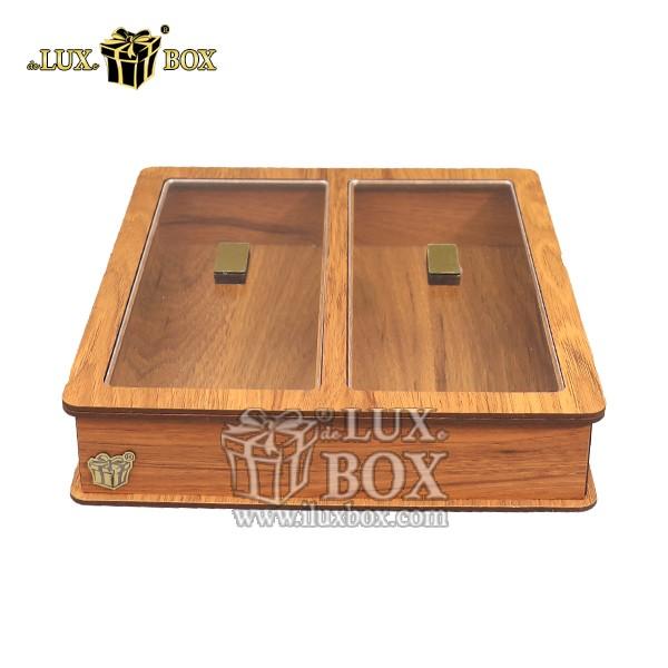 جای قاشق چنگال چوبی ، باکس چوبی قاشق چنگال چوبی ، جعبه چوبی پذیرایی قاشق چنگال