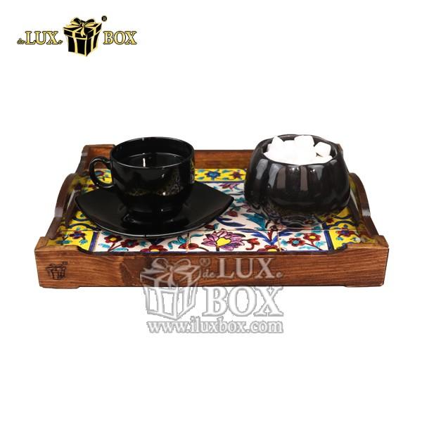 سینی ، سینی چوبی ، سینی پذیرایی ، سینی پذیرایی چوبی ، سینی لوکس ، سینی چوبی با کیفیت ، خرید سینی چوبی ،ظروف سرو و پذیرایی چوبی ، فروش سینی چوبی ،سینی چوبی سنتی ، سینی چوبی سنتی پذیرایی طرح کاشی لوکس ب