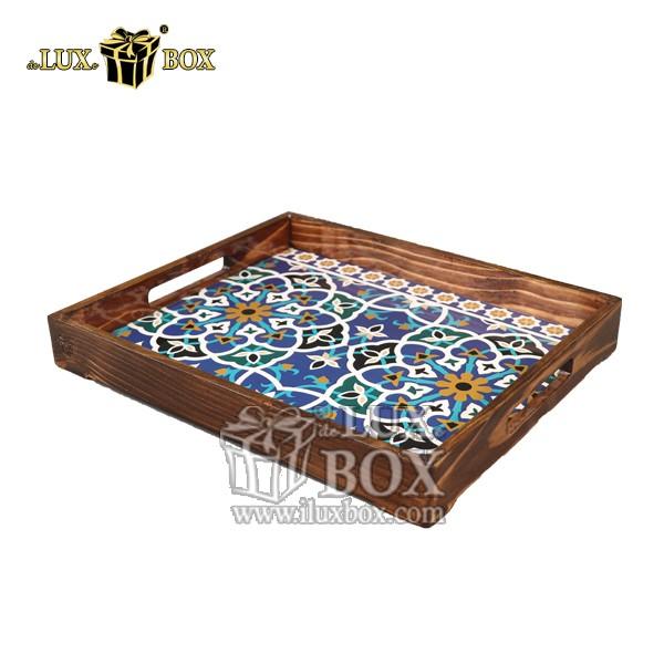 سینی ، سینی چوبی ، سینی پذیرایی چوبی ، سینی چوبی لوکس ، سینی باکیفیت چوبی ،لوکس باکس ،ظروف سرو و پذیرایی چوبی ،
