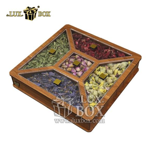 جعبه پذیرایی و دمنوش چوبی , باکس دمنوش , جعبه پذیرایی و دمنوش , جعبه پذیرایی دمنوش , باکس لوکس دمنوش , جعبه کادویی دمنوش , بسته بندی چوبی دمنوش , جعبه پذیرایی و دمنوش لوکس باکس