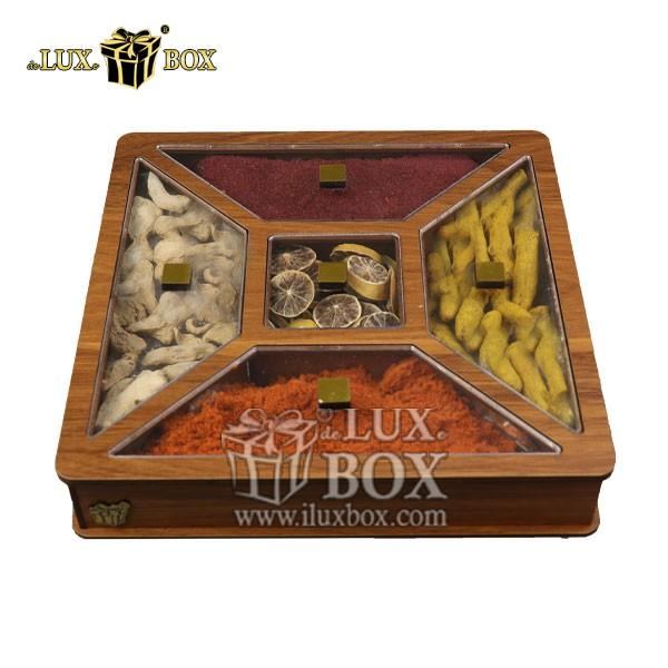 جعبه پذیرایی و دمنوش چوبی , باکس دمنوش , جعبه پذیرایی و دمنوش , جعبه پذیرایی دمنوش , باکس لوکس دمنوش , جعبه کادویی دمنوش