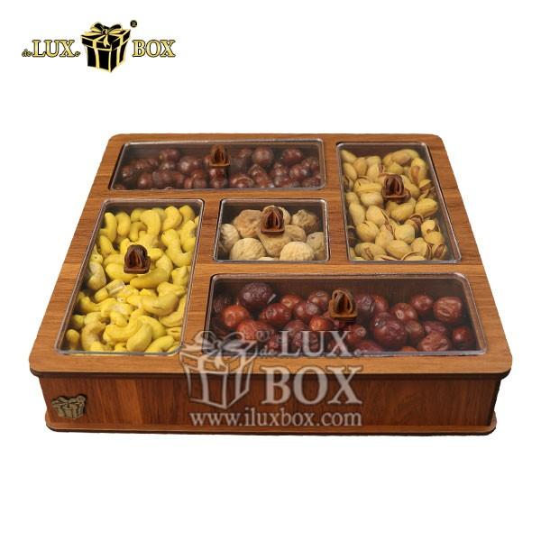 جعبه آجیل کادویی،جعبه شیک،جعبه لوکس، جعبه پذیرایی آجیل و خشکبار , جعبه چوبی , بسته بندی لوکس , جعبه آجیل و خشکبار , باکس چوبی , جعبه پذیرایی آجیل و خشکبار لوکس باکس ،