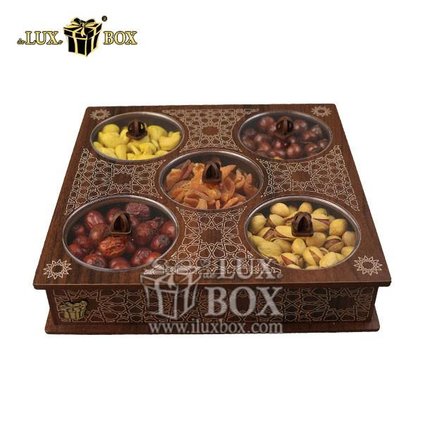 جعبه چوبی آجیل و خشکبار , باکس آجیل , جعبه پذیرایی , بسته بندی آجیل , جعبه کادویی آجیل , بسته بندی لوکس آجیل و خشکبار , جعبه پذیرایی آجیل و خشکبار لوکس باکس , جعبه چوبی پذیرایی آجیل و خشکبار لوکس باکس