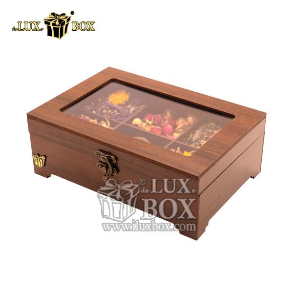 جعبه دمنوش پذیرایی چوبی لوکس باکس کد LB320-1 , جعبه ، جعبه چوبی ، جعبه دمنوش ، جعبه پذیرایی و دمنوش چوبی , باکس دمنوش , جعبه پذیرایی و دمنوش , جعبه پذیرایی و دمنوش لوکس باکس ،جعبه چای پذیرایی ،جعبه لوکس ، جعبه خاص