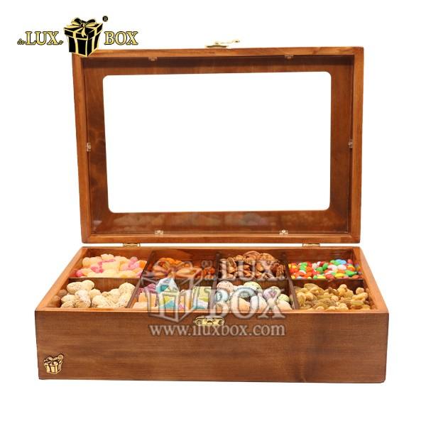 باکس چوبی آجیل ،بسته بندی چوبی اجیل و خشکبار ، جعبه چوبی آجیل ،جعبه پذیرائی آجیل و خشکبار ،جعبه کادوئی آجیل، جعبه آجیل دست ساز ,باکس لوکس آجیل ,جعبه پذیرایی آجیل و خشکبار
