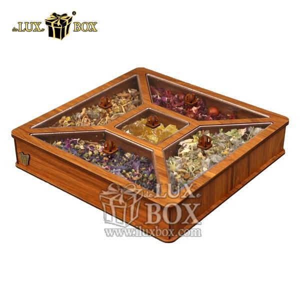 جعبه دمنوش پذیرایی چای کیسه ای لوکس باکس کد LB26-01 , جعبه ، جعبه چوبی ، جعبه دمنوش ،جعبه پذیرایی دمنوش، جعبه چوبی پذیرایی ،جعبه پذیرایی ، جعبه ارزان دمنوش،جعبه پذیرایی و دمنوش ، جعبه کادویی دمنوش