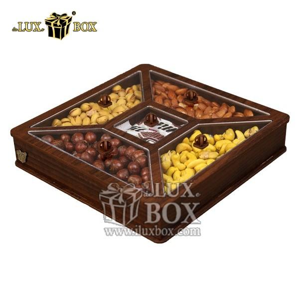 جعبه کادو آجیل و خشکبار پذیرایی لوکس باکس کد LB26-11 , لوکس باکس، جعبه ، جعبه آجیل، جعبه آجیل و خشکبار،آجیل، خشکبار،بسته بندی آجیل،جعبه ارزان،جعبه ارزان آجیل، جعبه چوبی ارزان،آجیل کادویی، جعبه آجیل کادویی،