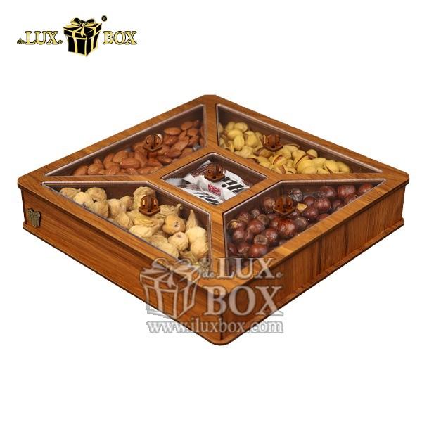جعبه کادو آجیل خشکبار پذیرایی لوکس باکس کد LB26-01 , لوکس باکس، جعبه ، جعبه آجیل، جعبه آجیل و خشکبار،آجیل، خشکبار،بسته بندی آجیل،جعبه ارزان،جعبه ارزان آجیل، جعبه چوبی ارزان،آجیل کادویی، جعبه آجیل کادویی،