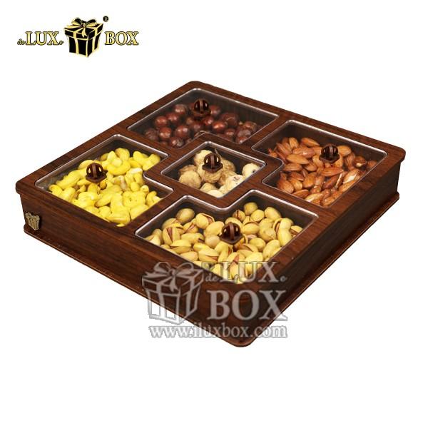جعبه پذیرایی آجیل و خشکبار لوکس باکس کد LB27-11 , لوکس باکس، جعبه ، جعبه آجیل، جعبه آجیل و خشکبار،آجیل، خشکبار،بسته بندی آجیل،جعبه ارزان،جعبه ارزان آجیل، جعبه چوبی ارزان،آجیل کادویی، جعبه آجیل کادویی،