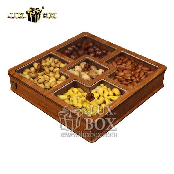 جعبه پذیرایی آجیل و خشکبار لوکس باکس کد LB27-01 , لوکس باکس، جعبه ، جعبه آجیل، جعبه آجیل و خشکبار،آجیل، خشکبار،بسته بندی آجیل،جعبه ارزان،جعبه ارزان آجیل، جعبه چوبی ارزان،آجیل کادویی، جعبه آجیل کادویی،