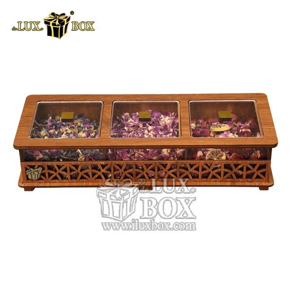 جعبه دمنوش پذیرایی چوبی لوکس باکس کد LB31-0 , جعبه ، جعبه چوبی ، جعبه دمنوش ،جعبه پذیرایی دمنوش، جعبه چوبی پذیرایی ،جعبه پذیرایی ، جعبه ارزان دمنوش،جعبه پذیرایی و دمنوش ، جعبه کادویی دمنوش