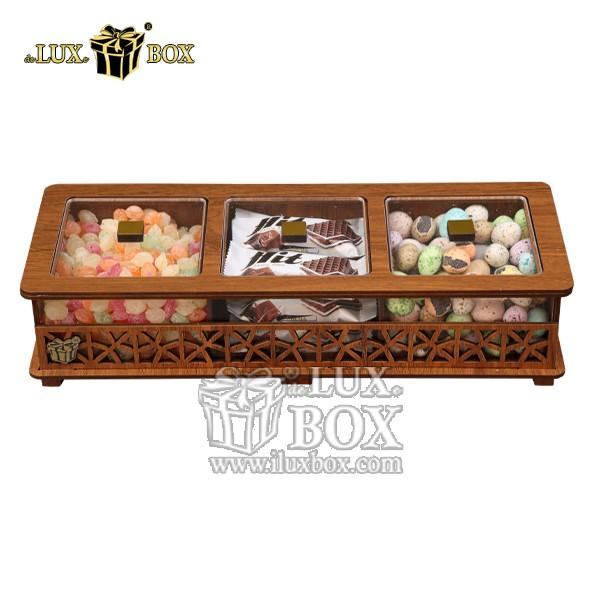جعبه آجیل و خشکبار چوبی لوکس باکس کد LB31-0 , لوکس باکس، جعبه ، جعبه آجیل، جعبه آجیل و خشکبار،آجیل، خشکبار،بسته بندی آجیل،جعبه ارزان،جعبه ارزان آجیل، جعبه چوبی ارزان،آجیل کادویی، جعبه آجیل کادویی،