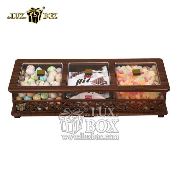 جعبه آجیل و خشکبار چوبی لوکس باکس کد LB31-1 , لوکس باکس، جعبه ، جعبه آجیل، جعبه آجیل و خشکبار،آجیل، خشکبار،بسته بندی آجیل،جعبه ارزان،جعبه ارزان آجیل، جعبه چوبی ارزان،آجیل کادویی، جعبه آجیل کادویی،