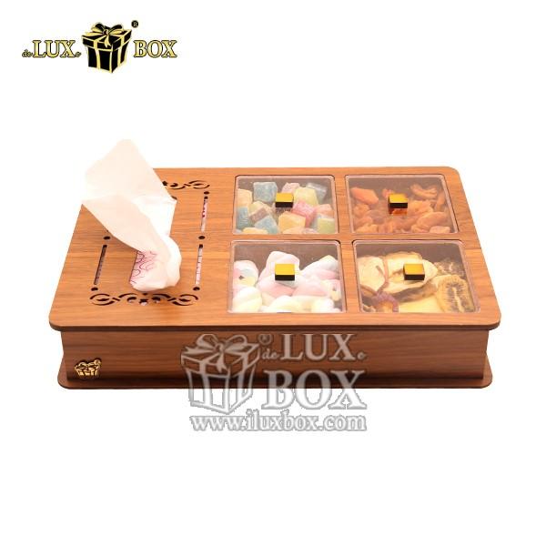 جعبه آجیل و خشکبار دستمال کاغذی لوکس باکس کد LB12-0 , لوکس باکس،جعبه ، جعبه آجیل، جعبه آجیل و خشکبار،آجیل، خشکبار،بسته بندی آجیل،جعبه ارزان،جعبه ارزان آجیل، جعبه چوبی ارزان،آجیل کادویی، جعبه آجیل کادویی،جعبه دستمال کاغذی آجیل و خشکبار