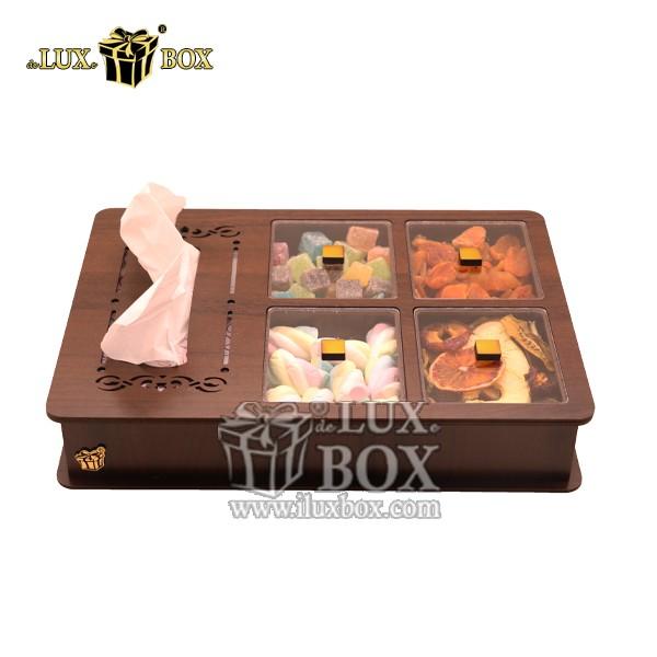جعبه آجیل و خشکبار دستمال کاغذی لوکس باکس کد LB12-1 , لوکس باکس،جعبه ، جعبه آجیل، جعبه آجیل و خشکبار،آجیل، خشکبار،بسته بندی آجیل،جعبه ارزان،جعبه ارزان آجیل، جعبه چوبی ارزان،آجیل کادویی، جعبه آجیل کادویی،جعبه دستمال کاغذی آجیل و خشکبار