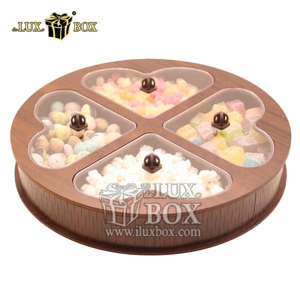 جعبه آجیل و خشکبار لوکس باکس کد LB33-11 , لوکس باکس،جعبه ، جعبه آجیل، جعبه آجیل و خشکبار،آجیل، خشکبار،بسته بندی آجیل،جعبه ارزان،جعبه ارزان آجیل، جعبه چوبی ارزان،آجیل کادویی