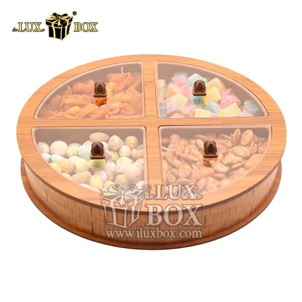 جعبه چوبی پذیرایی آجیل و خشکبار لوکس باکس کد LB34-01 , لوکس باکس، جعبه ، جعبه آجیل، جعبه آجیل و خشکبار،آجیل، خشکبار،بسته بندی آجیل،جعبه ارزان،جعبه ارزان آجیل، جعبه چوبی ارزان،آجیل کادویی