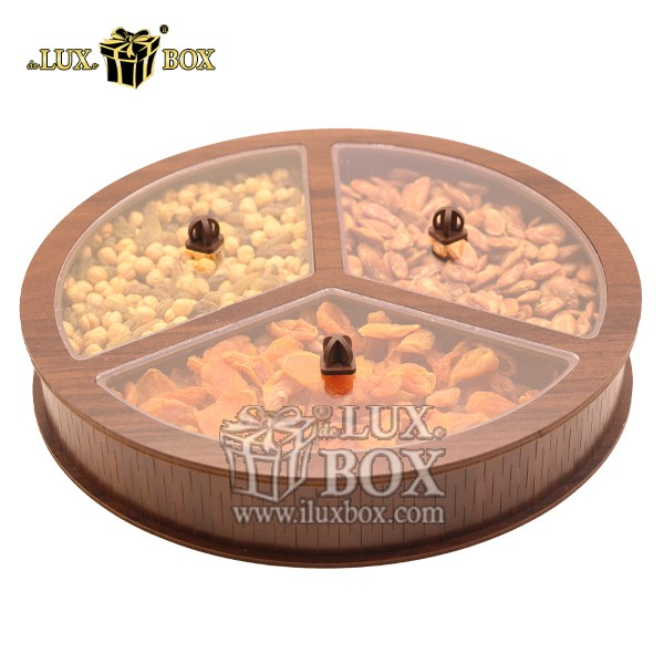جعبه هدیه آجیل و خشکبار چوبی لوکس باکس کد LB35-11 , لوکس باکس، جعبه ، جعبه آجیل، جعبه آجیل و خشکبار، آجیل، خشکبار، بسته بندی آجیل، جعبه ارزان، جعبه ارزان آجیل، جعبه چوبی ارزان، آجیل کادویی