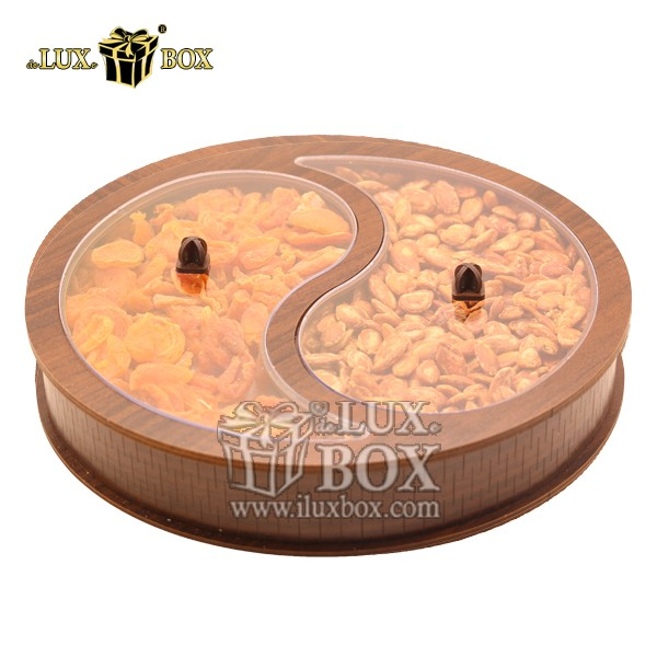 جعبه چوبی پذیرایی آجیل و خشکبار لوکس باکس کد LB36-11 , لوکس باکس، جعبه ، جعبه آجیل، جعبه آجیل و خشکبار ، آجیل، خشکبار، بسته بندی آجیل، جعبه ارزان، جعبه ارزان آجیل، جعبه چوبی ارزان، آجیل کادویی